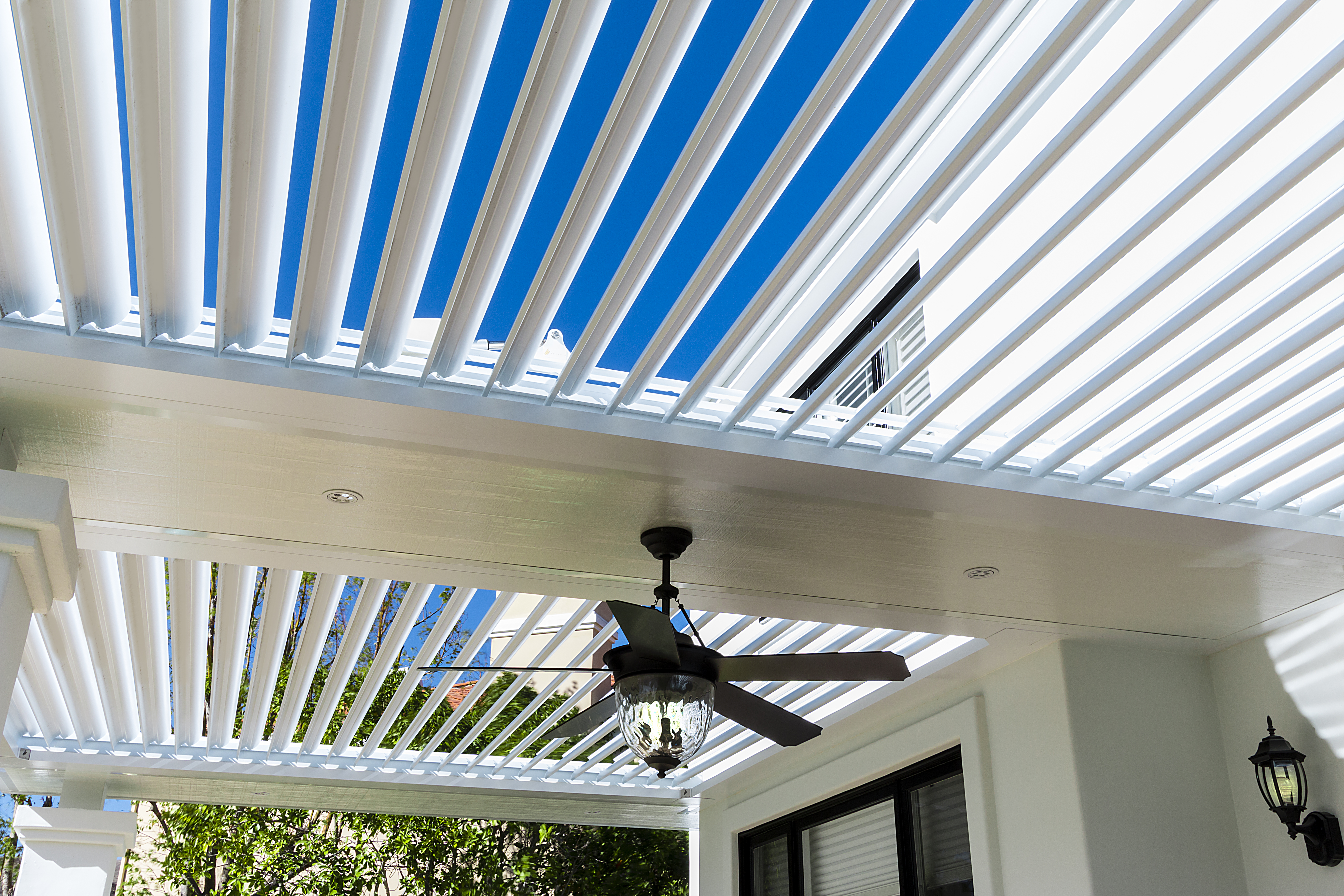 louvered roofs & equinox louvered roof