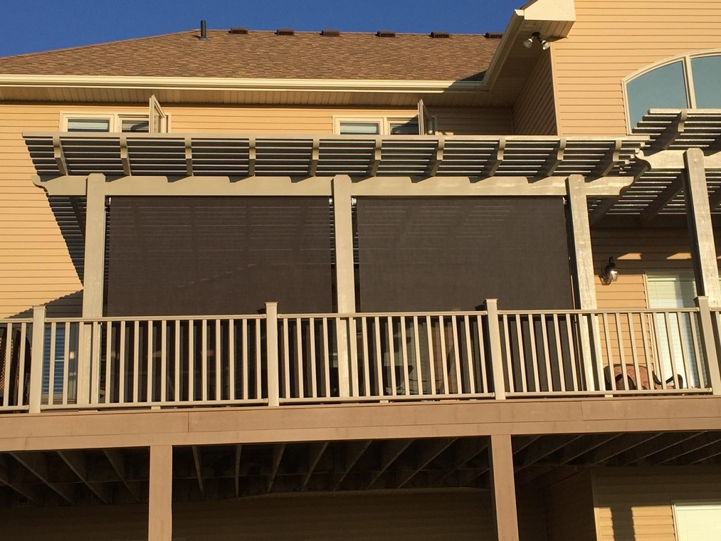 Patio Cover Drop Shade Solar Screen