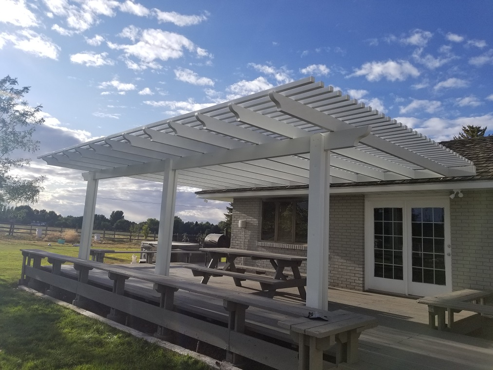 Aluminum Pergola Patio Cover
