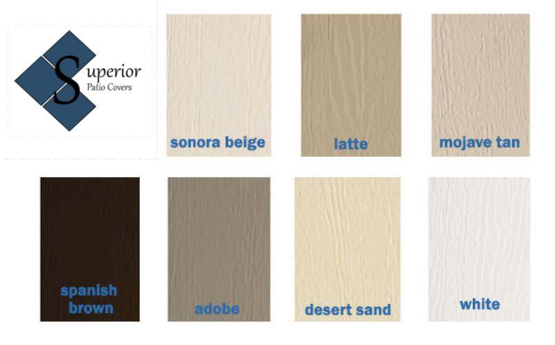 Pergola Color Options